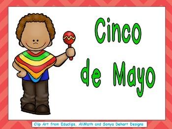Cinco de Mayo Shared Reading PowerPoint for Kindergarten
