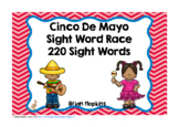 Cinco de Mayo Sight Word Race