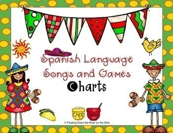 Spanish Language Songs, History, and Games for Cinco de Mayo or Anytime
