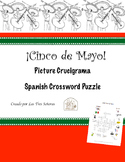 Cinco de Mayo Spanish Crossword Puzzle Crucigrama