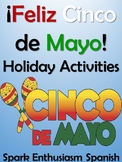 Cinco de Mayo Spanish Culture, Games & Vocabulary Book