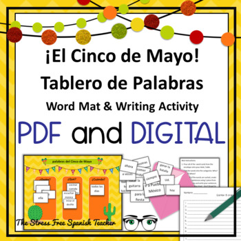 Cinco de Mayo Spanish Sentence Structure, Hands On