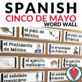 Spanish Cinco de Mayo - Spanish Word Wall