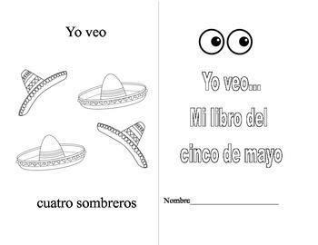 Cinco de Mayo Spanish Workbook