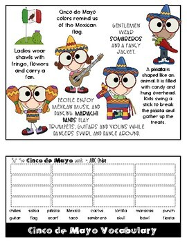 Cinco de Mayo  Step Book