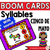 Cinco de Mayo Syllable Counting Digital Game Boom Cards