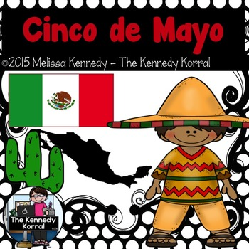 Cinco de Mayo Booklet {Map, Flag, Traditional Dress, Fiest