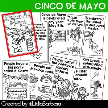 Cinco de Mayo Thematic Readers- English and Spanish