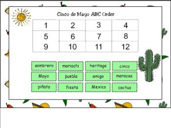 Cinco de Mayo Thematic Unit for SMART Board