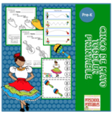 Cinco de Mayo Toddler Printable