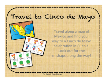 Cinco de Mayo Travel To Mexico Open-Ended Board Game