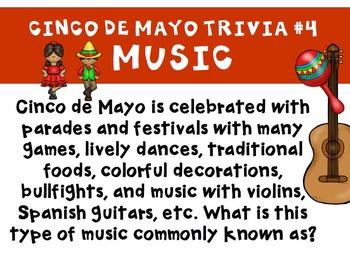 Cinco de Mayo Trivia Activities