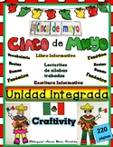 "Cinco de Mayo -Unidad ""Informative Reading Writing Craftivity Math""  Mrs Partida"