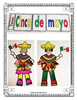 "Cinco de Mayo -Unidad ""Informative Reading Writing Craftivity Math""  Mrs Partida"