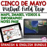 Cinco de Mayo Virtual Field Trip for Distance Learning (BUNDLE)