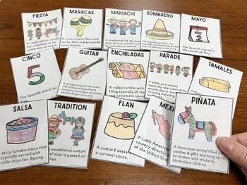 Cinco de Mayo Vocabulary NO Prep Packet