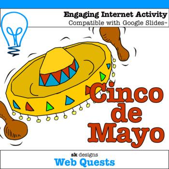 Cinco de Mayo WebQuest - Engaging Internet Activity {Includes Google Slides}