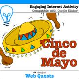Cinco de Mayo WebQuest - Engaging Internet Activity {Inclu