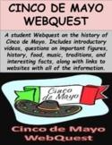 Cinco de Mayo Webquest (GOOGLE SLIDES)