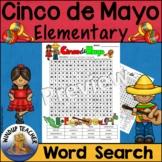 Cinco de Mayo Word Search Elementary