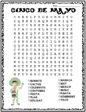 Cinco de Mayo Word Search: FREE!