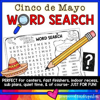 Cinco de Mayo Word Search Puzzle