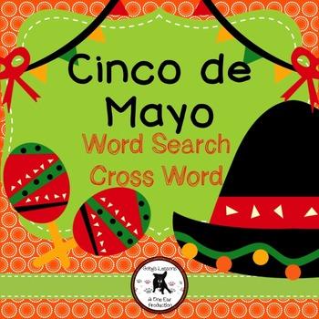 Cinco de Mayo Word Search and Crossword