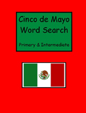Cinco de Mayo Word Searches - Primary and Intermediate