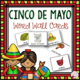 Word Wall Cards: Cinco de Mayo