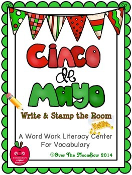 Cinco de Mayo Write / Stamp the Room Activity Pack
