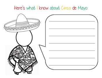 Cinco de Mayo Writing Activity