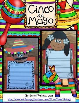 Cinco de Mayo Writing Craftivity