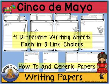 Cinco de Mayo Writing Paper Pack