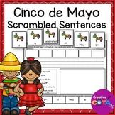 Cinco de Mayo Writing Sentence Scramble