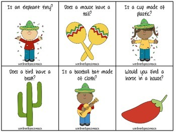 Cinco de Mayo Yes/No Questions and Attributes