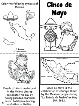 Cinco de Mayo book- English and Spanish