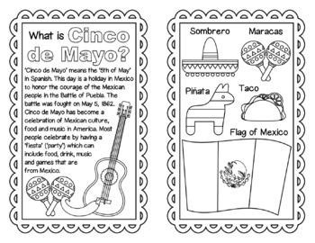 Cinco de Mayo booklet