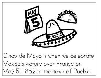 Cinco de Mayo coloring book