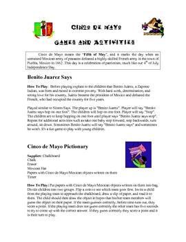 Cinco de Mayo curriculum unit
