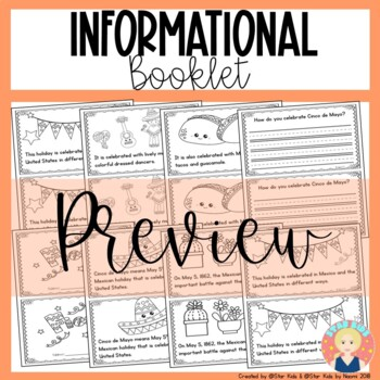 Cinco de Mayo for Kindergarten and First Grade {English and Spanish}