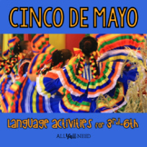 Cinco de Mayo for Speech & Language Therapy - Upper Elementary