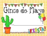 Cinco de Mayo mini book