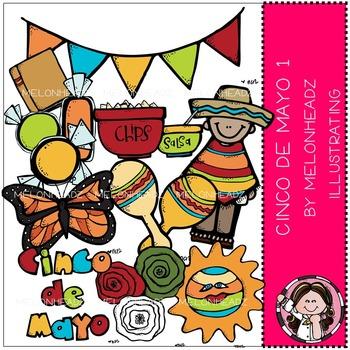 Melonheadz: Cinco de Mayo clip art Part 1 - COMBO PACK