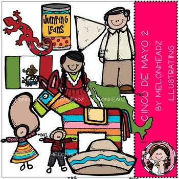 Melonheadz: Cinco de Mayo clip art - Part 2 - COMBO PACK