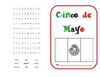 cinco de mayo simple booklet by sandy chasteen weaver tpt