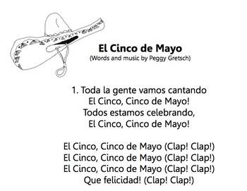 Cinco de Mayo song/ El Cinco de Mayo song /Fiesta song