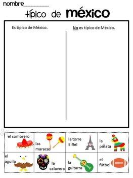 Cinco de mayo Bundle {Spanish version} Timeline and Sorting page