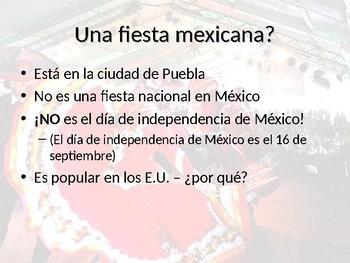 Cinco de mayo en español