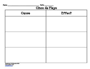 Cinco de mayo input sheets