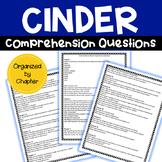 Cinder by Marissa Meyer Comprehension Questions